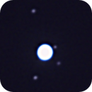 Uranus with four largest moons,                                Dale Hollenbaugh