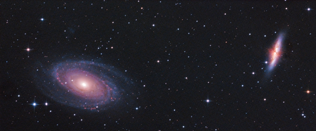 Bode's 'Nebula' with the Cigar Galaxy,                                Christiaan Berger