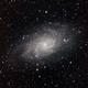 M33 - Triangulum Galaxy,                                Jeremy Burton