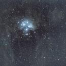 M45 les pleiades,                                laup1234