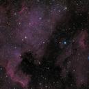 NGC 7000 and IC 5070 LRGB version,                                Maciej