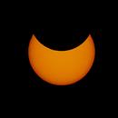 Partial solar eclipse,                                Viktor Ström