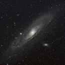 M31 - Andromeda Galaxy,                                MikeTheTechGeek