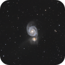 Messier 51, The Whirlpool Galaxy,                                Madratter