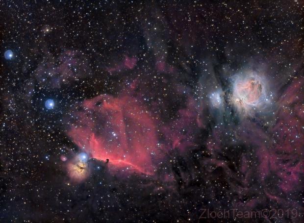 L'épée d'Orion - M42, IC434.....,                                ZlochTeamAstro
