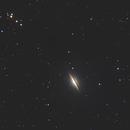 M104 Sombrero Galaxy Crop,                                NelsonAstrofoto