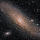 Andromeda Rising,                                Greg Trotter