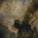 NGC 7000/IC5070 HOO (modified),                                mikefulb