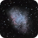 Crab nebula - High resolution,                                Samuel