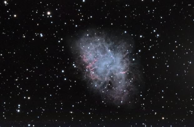 Crab nebula - High resolution,                                Samuel