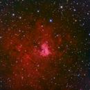 NGC 1491 HaLRGB,                                Ron Stanley
