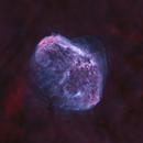 NGC6888 - HOO Starless,                                Martin Dufour