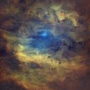Sh2-119 • Emission Nebula in Cygnus in SHO,                                Douglas J Struble