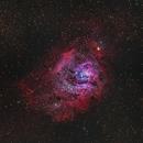 Lagoon Nebula,                                FocalWorld