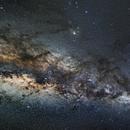 Milky Way & Rho Ophichu,                                KiwiAstro
