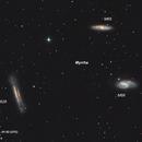 Asteroid Myyrha in Leo Triplet Animation,                                Ahmet Kale