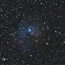 NGC 281 (Pacman Nebula) unmodded DSLR - 4 agosto 2014,                                Giuseppe Nicosia