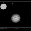 Europa, Jupiter, Ganymede,                                Lorenzo Palloni