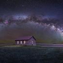 Church on the Mesa Panorama,                                Christopher Scott