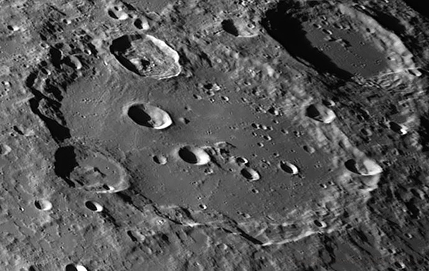 Clavius close-up,                                Vincenzo della Ve...