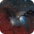 Messier 78   NGC 2068   LRGB,                                Kiko Fairbairn