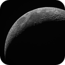 Single snapshot of the moon whlie checking my equipment,                                Günther Eder