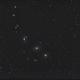 Markarian's Chain of galaxies in virgo,                                Wolfgang Zimmermann