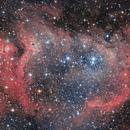 IC 1848 Soul Nebula in RGB,                                Nightsky_NL