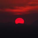 Sunset in Rhodes island , spring of 2020,                                Ηρακλής Πιπινος