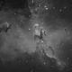 M16 Eagle Nebula - Hydrogen Alpha,                                rhedden