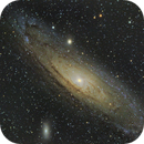 """M31 During the Night of the MGAS/PRCF """"Fly N Sky"""",                                John Richards"""