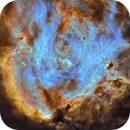 IC2944 / IC2948 Running chicken Nebula & Henize 2-72 ( PK 294-00.1 ) Planetary Nebula,                                Michel Lakos M.