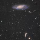 M106 & NGC4217,                                Fan
