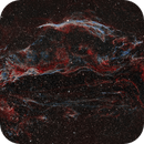 NGC6960 - Supernova Remnant in Cygnus,                                Giulio