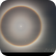 22 Degree Lunar Eclipse Halo,                                Brent Newton