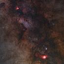 Milky way from Sagittarius to Serpens,                                J_Pelaez_aab