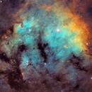 Berkeley 59 and NGC7822 in Cepheus,                                Arnaud Peel
