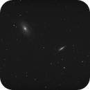 M81 and 82 with narrowband filter,                                Marek Smiatacz