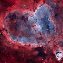 IC 1805 - Heart Nebula (Natural Palette),                                Yannick Akar