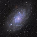 M33 Triangulum Galaxy LRGB,                                nicolabugin