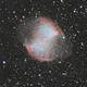 M27 - The Dumbbell Nebula,                                Scott Iver
