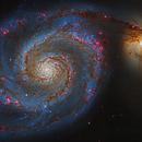 M51 - Whirlpool Galaxy,                                Steven Marx