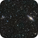 NGC 7331 Deer lik group in HaLRGB on Lacerta 250,                                Piet Vanneste