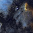 Pelican Nebula Mosaic,                                Dennis Sprinkle