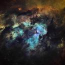 NGC3603 in HST palette,                                John Ebersole
