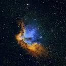 NGC 7380 Wizard Nebula,                                Andy Elliott