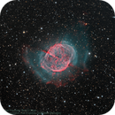 M 27; the Dumbbell Nebula,                                Steve Cooper