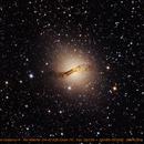 Galáxia Centaurus A - NGC 5128,                                Davi Weigert