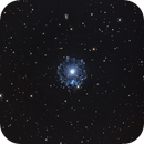 Cat's Eye Nebula (NGC6543) in Hα/OIII-RGB,                                Jose Carballada