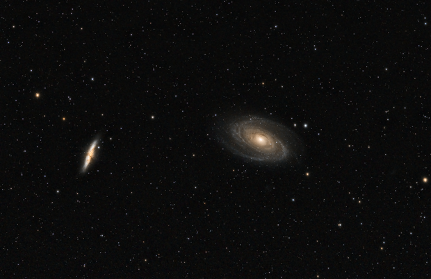 M81 and M82,                                cdavmd